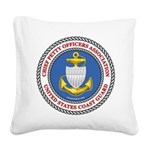 2019 logo new cpoa Square Canvas Pillow