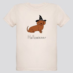 Halloween Wiener Dog Organic Kids T-Shirt