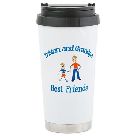 Tristan and Mom - Best Friend Stainless Steel Trav