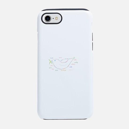 Peace Dove iPhone 7 Tough Case