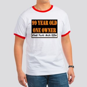 99th Birthday Ringer T