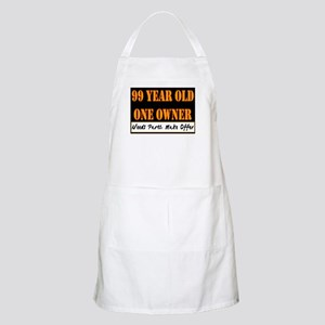 99th Birthday BBQ Apron