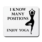 Enjoy Yoga Mousepad