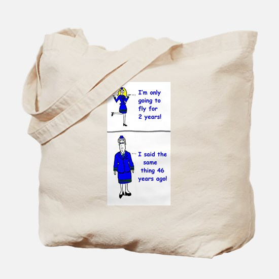 Unique Flight attendant Tote Bag