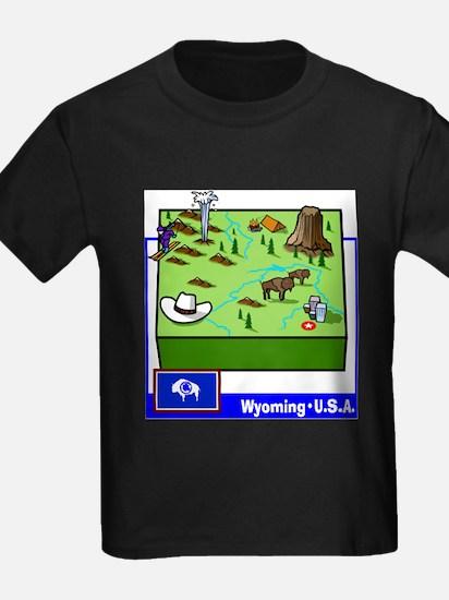 Wyoming Map T