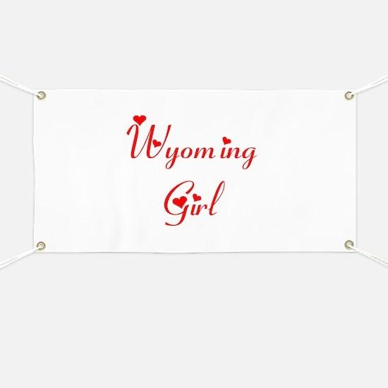 Wyoming Girl Banner
