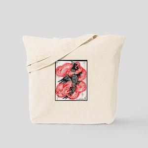Snake vs Crow Tote Bag
