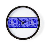 BlueCat Wall Clock