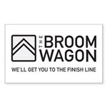 Broom Wagon Sticker