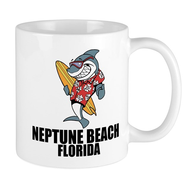 Houses For Sale In Neptune Beach Fl: Neptune Beach, Florida Mugs By Bestbeach