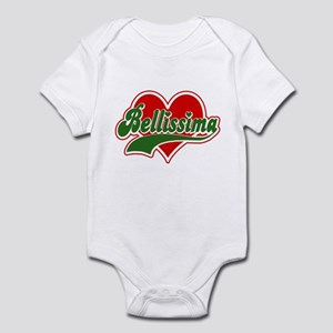 "Italian :""Bellissima"" Infant Creeper"