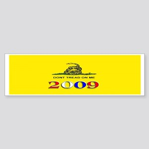 Gasden Flag Bumper Sticker