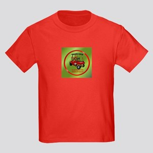 Peachtree City Holidays Kids Dark T-Shirt