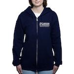Broom Wagon Women's Zip Hoodie Sweatshirt