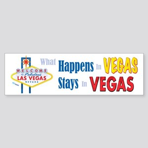 Vegas Bumper Sticker