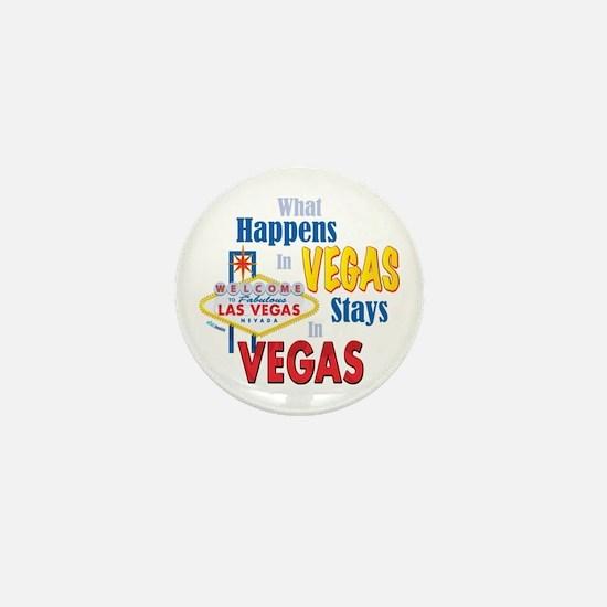 Vegas Mini Button