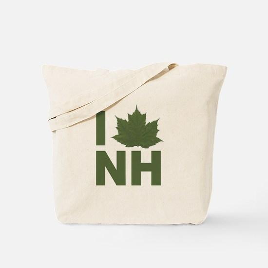 I Love NH Tote Bag