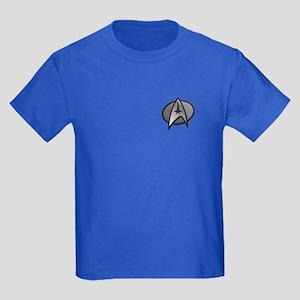 Star Tek Haloween Costume Kids Dark T-Shirt