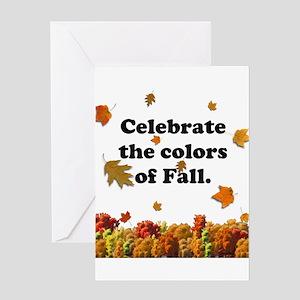 Celebrate Fall Greeting Card