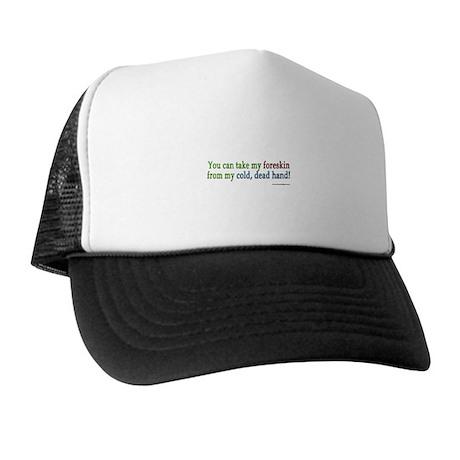 """Cold, dead hand"" Trucker Hat"