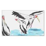 Cranes Sticker