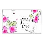 Power & Love Sticker