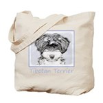 Tibetan Terrier Tote Bag