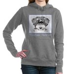 Tibetan Terrier Women's Hooded Sweatshirt