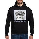 Tibetan Terrier Hoodie (dark)