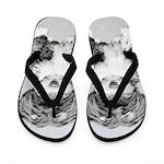 Tibetan Terrier Flip Flops