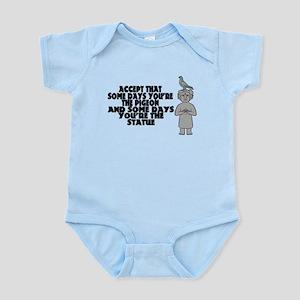 Pigeon Or Statue Infant Bodysuit