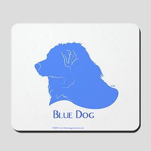 Classic Blue Dog Mousepad