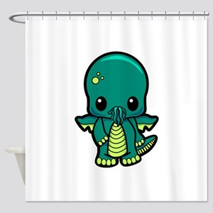 Baby Cthulhu Shower Curtain