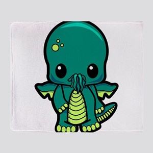 Baby Cthulhu Throw Blanket
