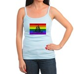 Rainbow Gadsden Flag Jr. Spaghetti Tank