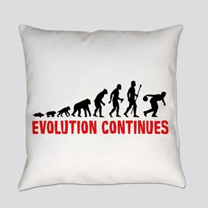Evolution Ten Pin Bowling Everyday Pillow