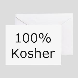 Jewish 100% Kosher Greeting Cards (Pk of 10)