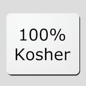 Jewish 100% Kosher Mousepad