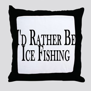 Rather Ice Fish Throw Pillow