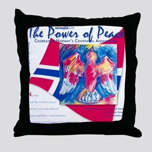 Power Of Peace! Throw Pillow