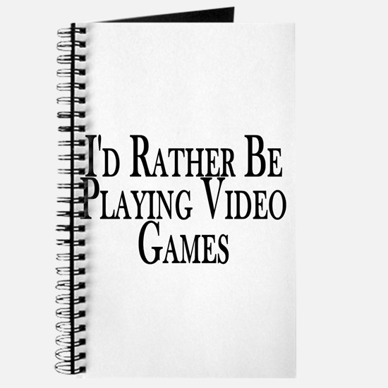 Rather Play Video Games Journal