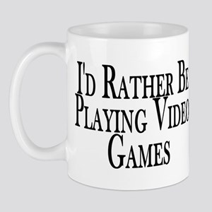 Rather Play Video Games Mug