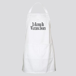 Rather Watch Sports BBQ Apron