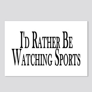 Rather Watch Sports Postcards (Package of 8)