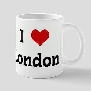 I Love London Mug