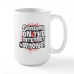 watchbloggers unite! Large Mug