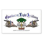 Charleston Light Artillery Rectangle Sticker