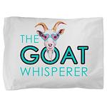The Goat Whisperer Hipster Goat by GetYerGoat Pill