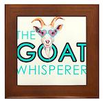 The Goat Whisperer Hipster Goat by GetYerGoat Fram