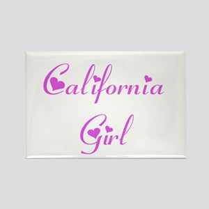 California Girl Rectangle Magnet